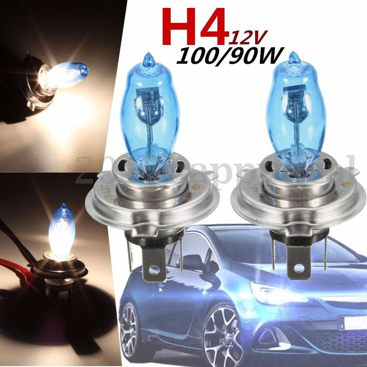2pcs h4 #100w/90w 6000k 12v super #white light bulbs lamp car #headlight xenon,  View more on the LINK: 	http://www.zeppy.io/product/gb/2/152275115594/
