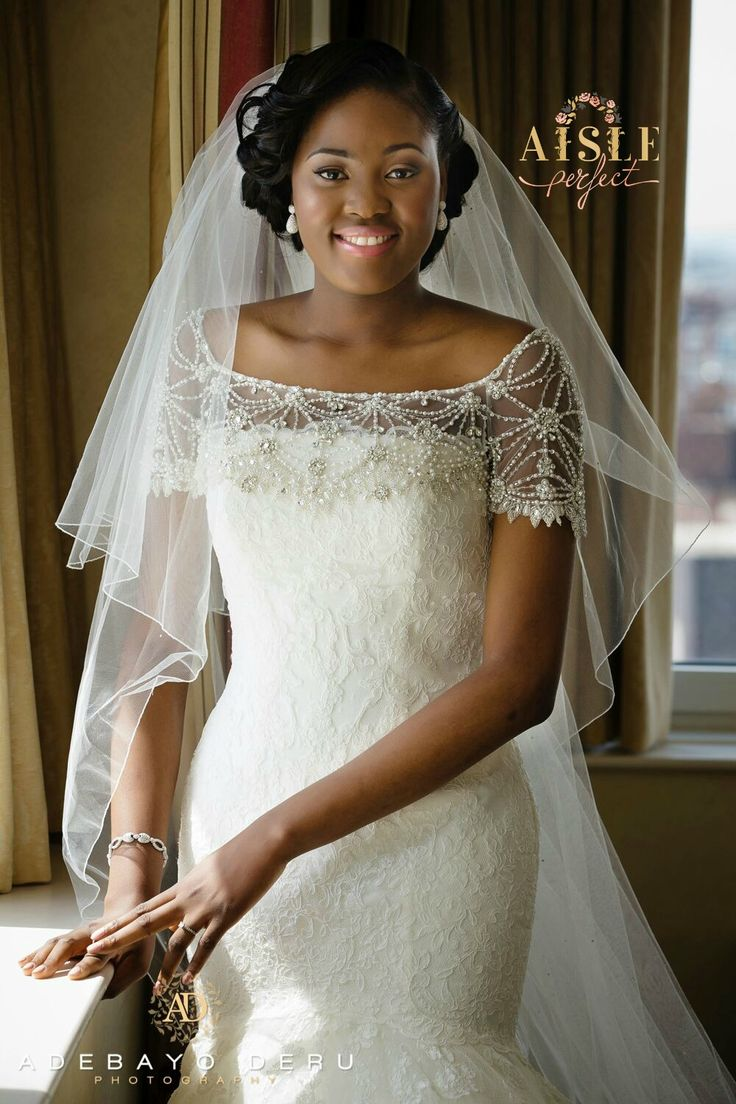 White dress for church - Find This Pin And More On Church White Wedding Dress Nigerian Brides