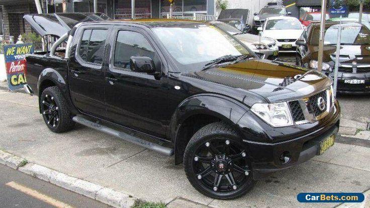 2011 Nissan Navara D40 ST (4x4) Black Manual 6sp M Dual Cab Pick-up #nissan #navara #forsale #australia