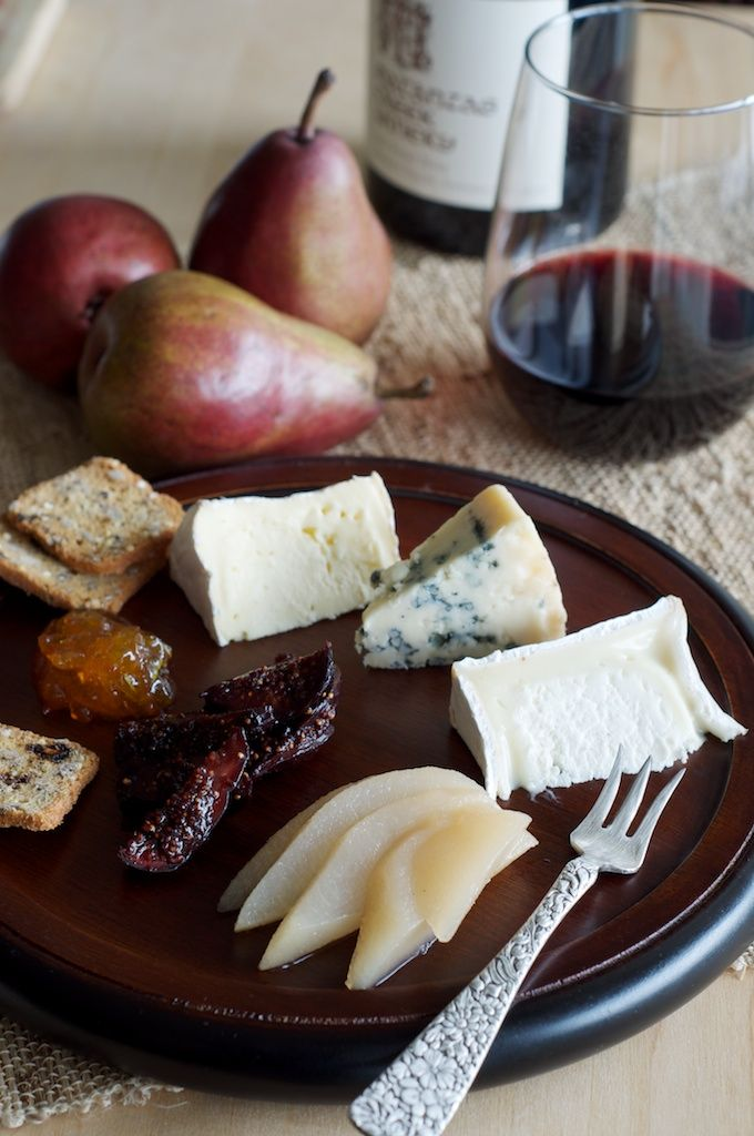 Cheese board | port wine infused figs, honey poached pears...always.