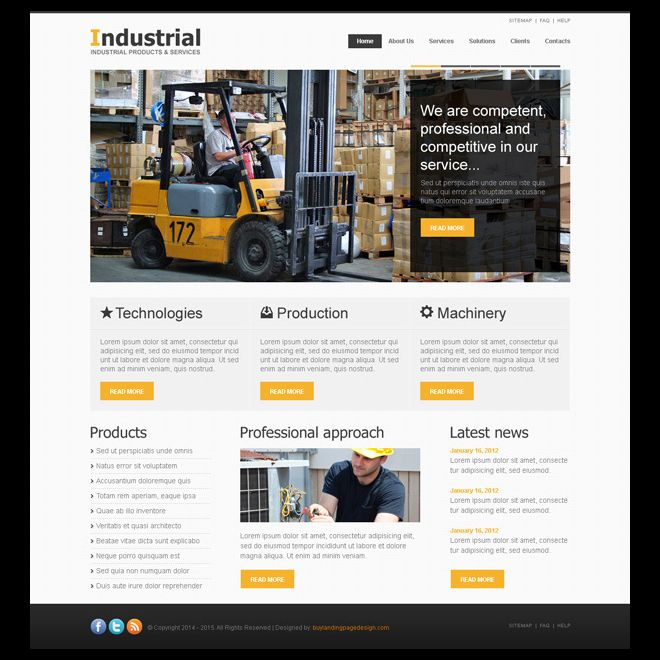 16 best website templates psd images on Pinterest Role models - how to create a website template