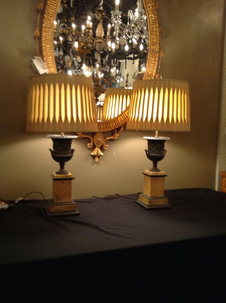 Beautiful Lamps and Custom Shades