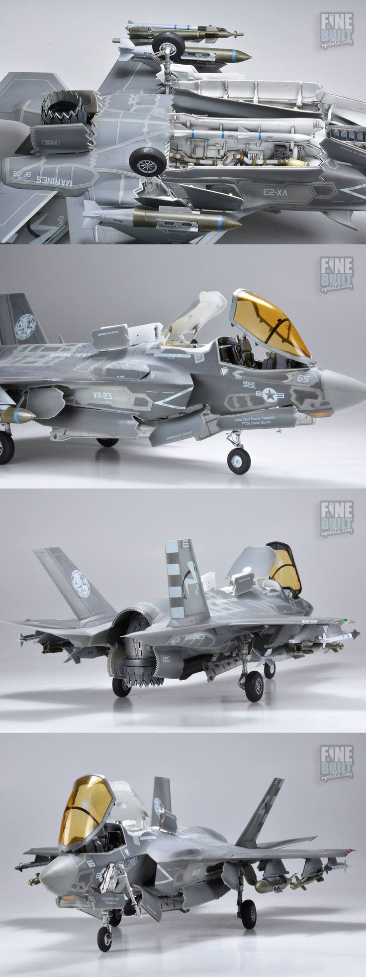 1/48th Scale - USMC Lockheed F-35B Lightning II - Kitty Hawk Kit