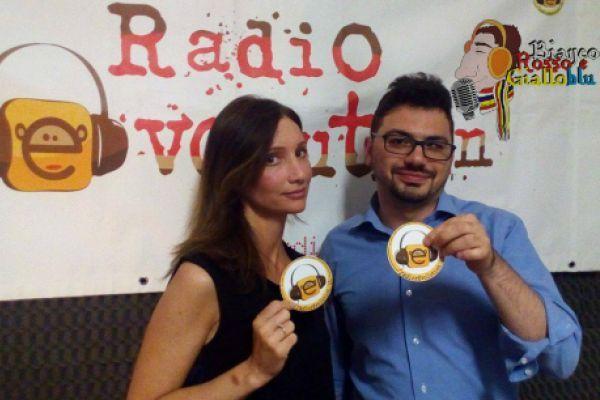 Bianco, Rosso e Gialloblu: Sonia Paladini e Giuseppe Paladino