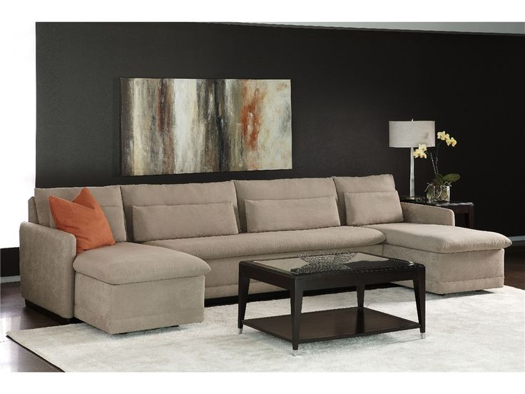 American Leather Living Room Hailey Sectional