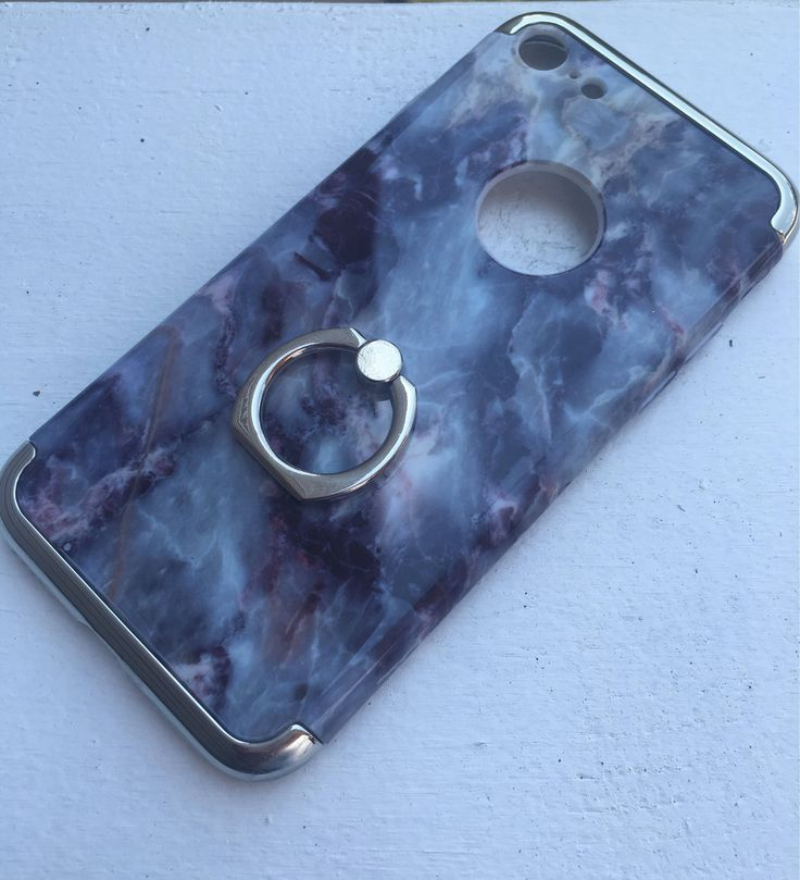 A personal favorite from my Etsy shop https://www.etsy.com/listing/544382101/iphone-7-blue-marble-w-silver-ring-stand