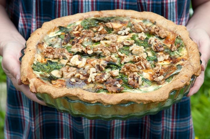 Ground elder pie