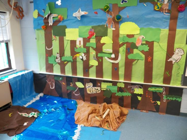 rainforest facts for kids homework room