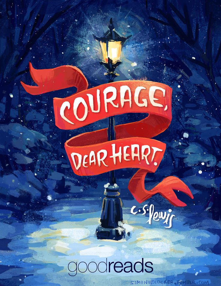 New illustrated quote for the Goodreads YA newsletter. That Narnia feeling…