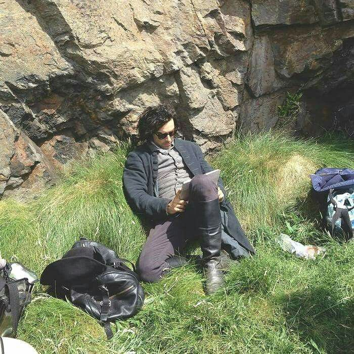 Aidan Turner as Ross Poldark, bts ;)