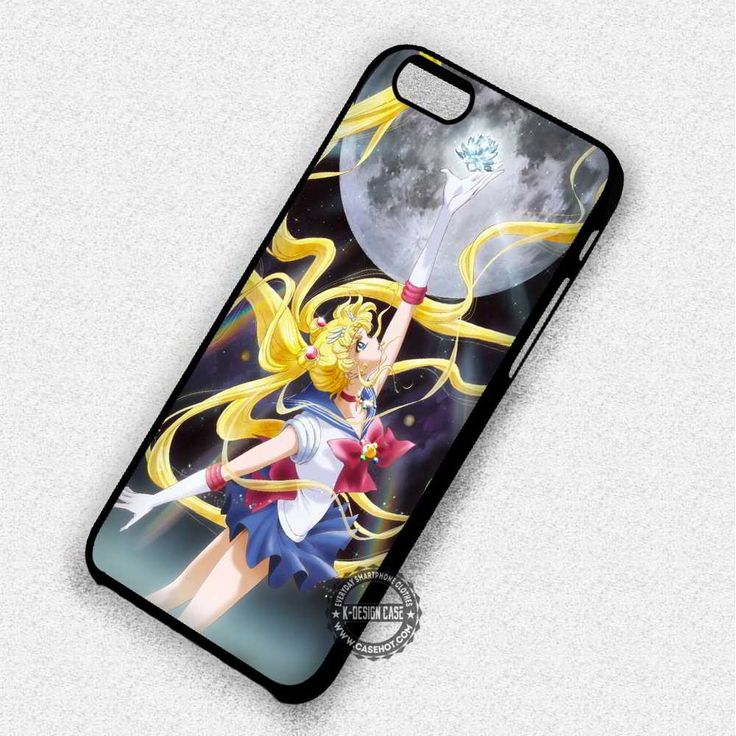 Moon Goddess Sailormoon Crystal - iPhone 7 6 SE 4 Cases & Covers