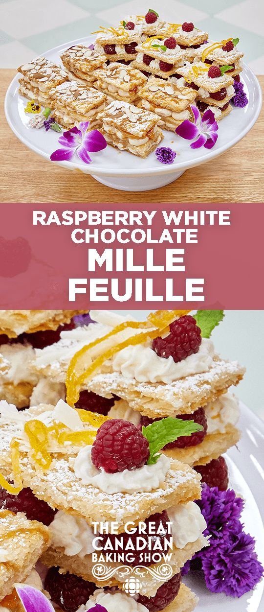 Mille feuille are light, flaky French pastries made with three layers of puff pastry and irresistible fillings.