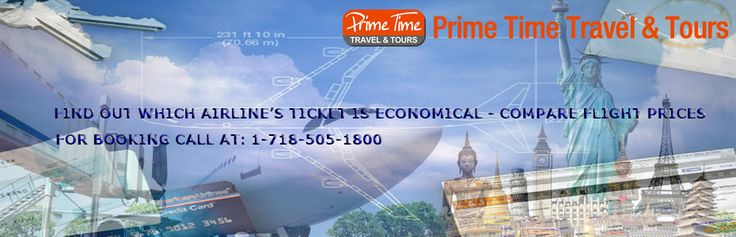 Find Out Which Airline's Ticket Is Economical –Compare Airline Tickets Prices  Searching for the economical tickets can be difficult but with little research in the right ticket sales centers you can find the ticket at the right price.   https://www.primetimetravelnyc.com/compare-airline-tickets-prices/