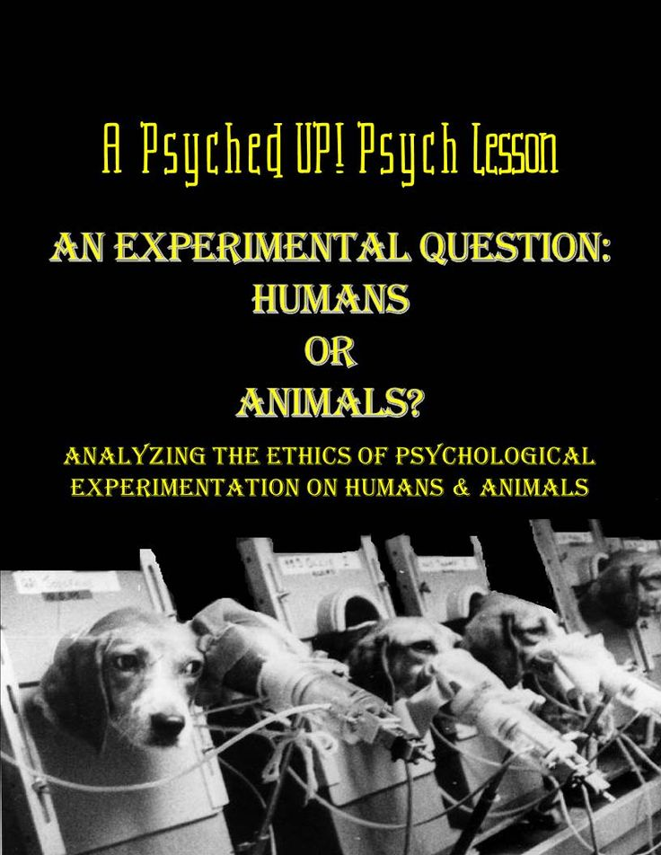 Should psychological testing be done on humans or animals? Should humans be exposed to the traumatic effects of experimentation? Or should animals have to endure the suffering and altered living conditions that result from testing in psychology labs? Students will be compelled to answer these controversial questions and more after weighing both sides of the argument and analyzing a variety of sources on the subject