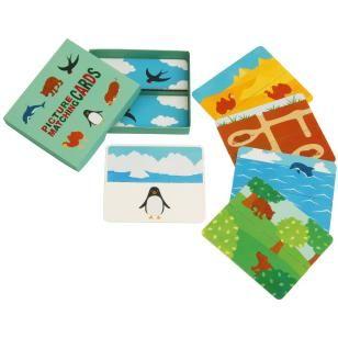 Карточки с картинками (жилища зверей),Игрушки,Поделки из бумаги,Образовательный,играть,игра,Открытка ,родитель и ребенок