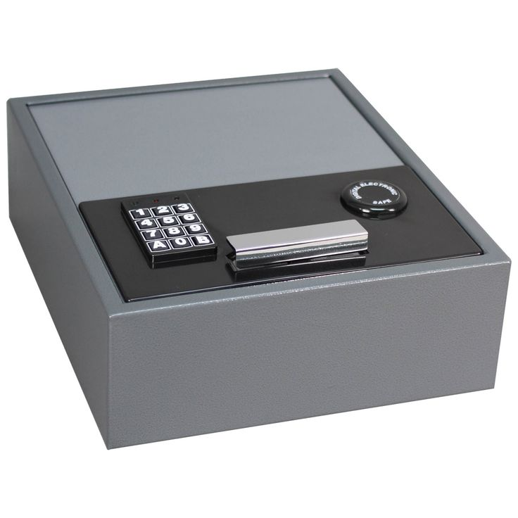 First Alert 2074F Theft Rated Digital Lock Media and Security Drawer Safe - 2074F