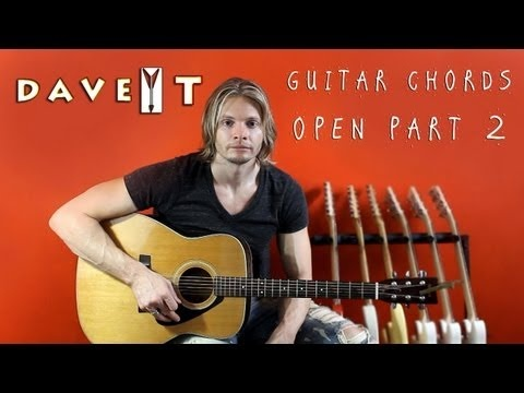 Guitar Open Chords including the E Chord, A Chord, A minor Chord, and B7 Chord.    GUITAR CHORDS: http://www.onlineguitarchords.net    #GuitarChords   #GuitarOpenChords