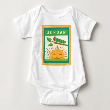 The Very Hungry Caterpillar | Warm Sunny Days Baby Bodysuit - click/tap to personalize and buy