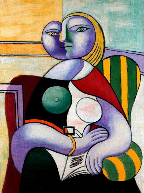 Пабло Пикассо «Чтение» 1932 г.