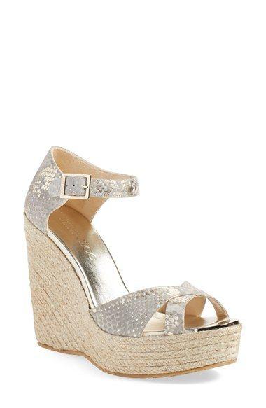 jimmy choo pallis wedge sandal nordstrom exclusive jimmychoo rh pinterest com  jimmy choo wedge sandals nordstrom