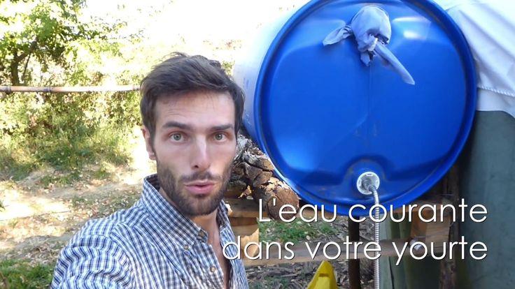 Découvrez comment installer l'eau courante dans votre yourte et réduire votre consommation d'eau de plus de 90%