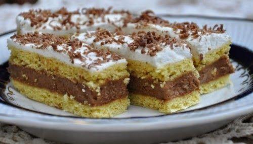 TutiReceptek és hasznos cikkek oldala: Kati szelet recept – Lehet csokireszelékkel meghinteni a tetejét. Nagyon finom, mutatós sütemény