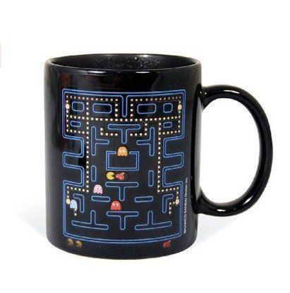 Pac-Man Heat Change Mug by ComsicÃÂ @ niftywarehouse.com #NiftyWarehouse #PacMan #VideoGames #Pac-man #Arcade #Classic