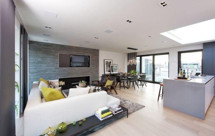 Pi di 25 fantastiche idee su soggiorno open space su for Case senza sale da pranzo