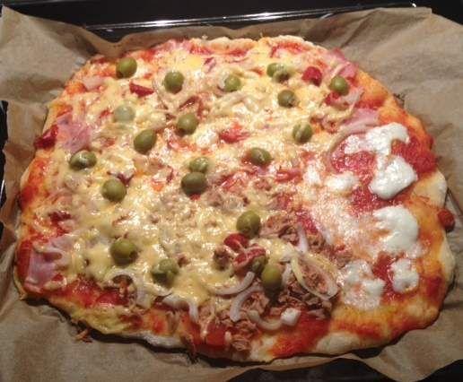 Rezept Pizzateig von Jamie Oliver (der Weltbeste; meiner Meinung nach) von…