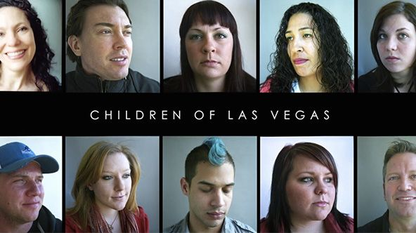 Children of Las Vegas. 10 true stories about growing up in the world's playground by Timothy O'Grady and Steve Pyke.