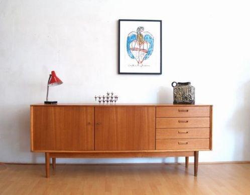 Jaren 60 vintage retro design dressoir