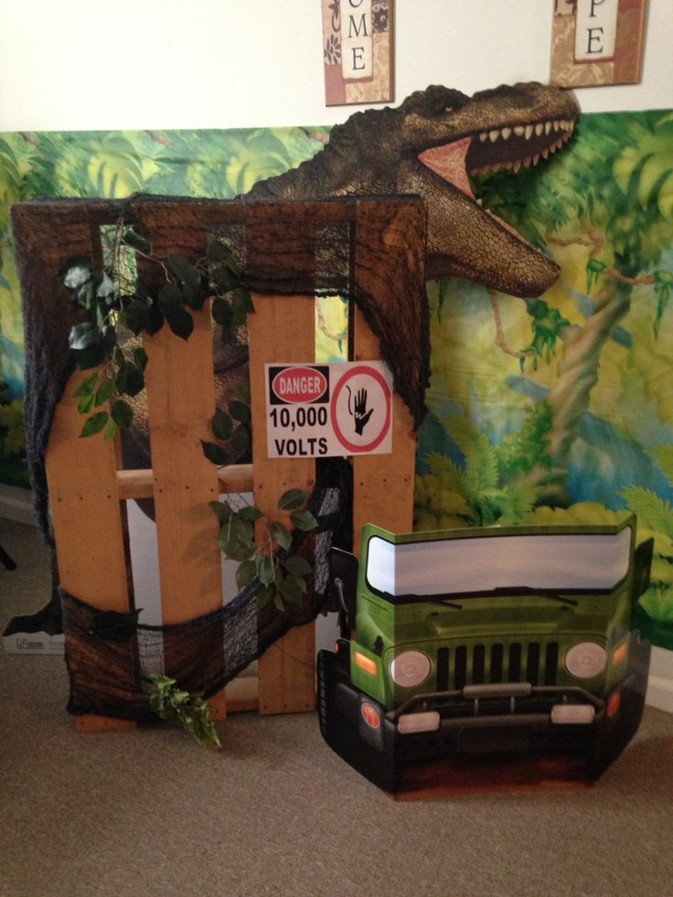 Jurassic World Dinosaur Party Jurassic Park Birthday