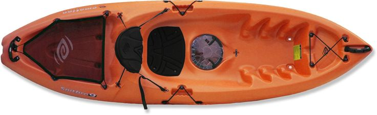 With a sit-on-top kayak the options are endless; even bring the dog along for a ride! Emotion Kayaks Spitfire 9 Sit-On-Top Kayak.