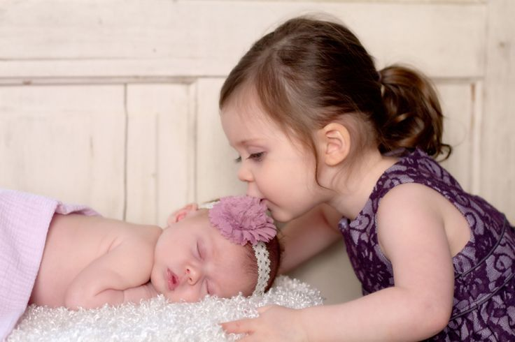 """Kisses All Around"" <3 Portrait Creations Professional Infant Portraits in Charlotte, NC."