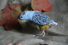 that artist woman: Paper Mache Birds
