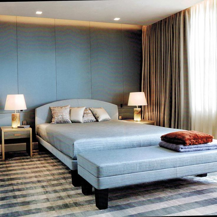 "536 curtidas, 6 comentários - Armani Casa Miami (@armanicasamiami) no Instagram: ""A rhapsody in blue for your bedroom... #armanicasa #armanicasamiami #bluedesign #residencesbyarmani…"""