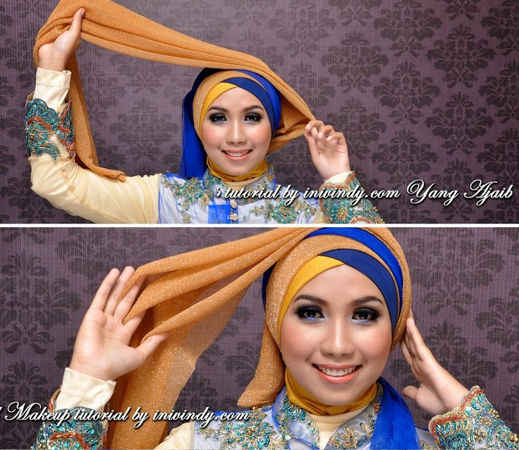 make up and hijab style beauty