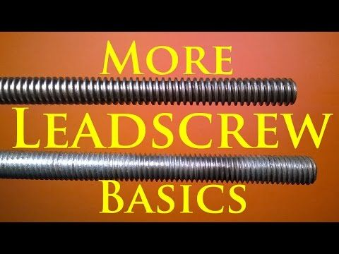 Leadscrews for DIY CNC Machines - YouTube