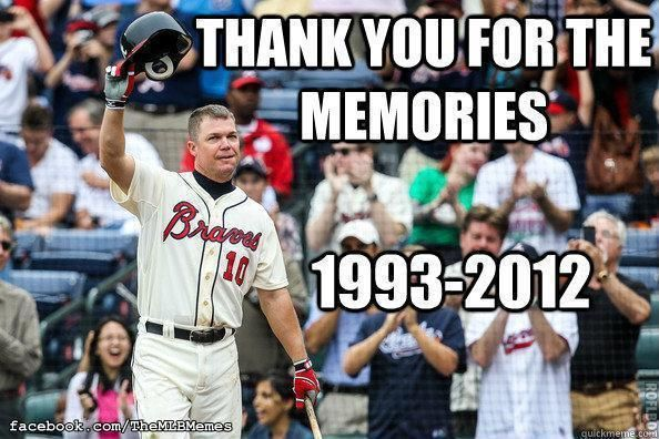 The greatest switch hitter of our generation, Chipper Jones!