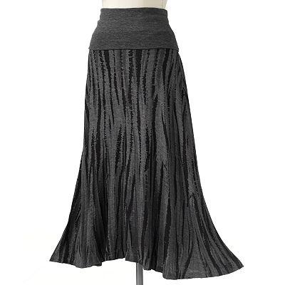 ab studio brushstroke maxi skirt not your s