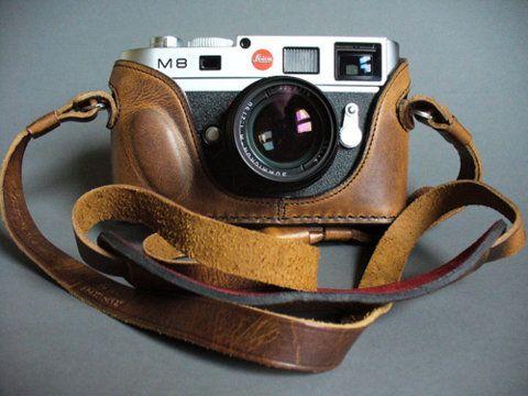 .: Old Camera, Vintage Camera, Camera Straps, Leica M8, Dreams Camera, Leather Cases, Leica Camera, Camera Cases, 17Th Birthday
