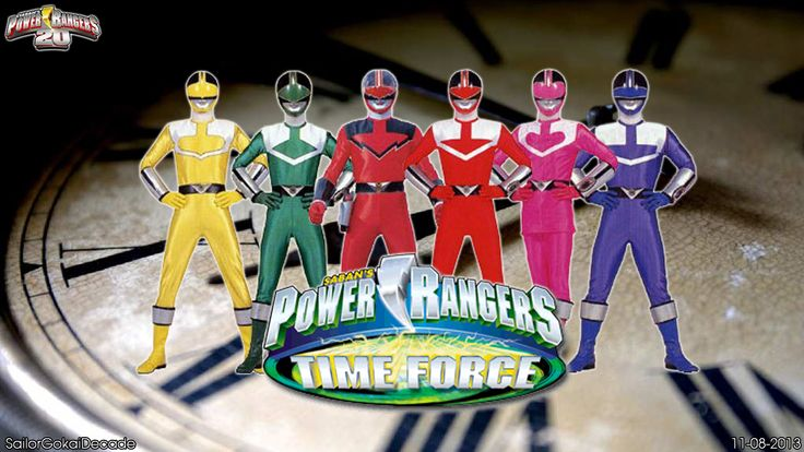 power rangers time force | Power Rangers Time Force WP by jm511