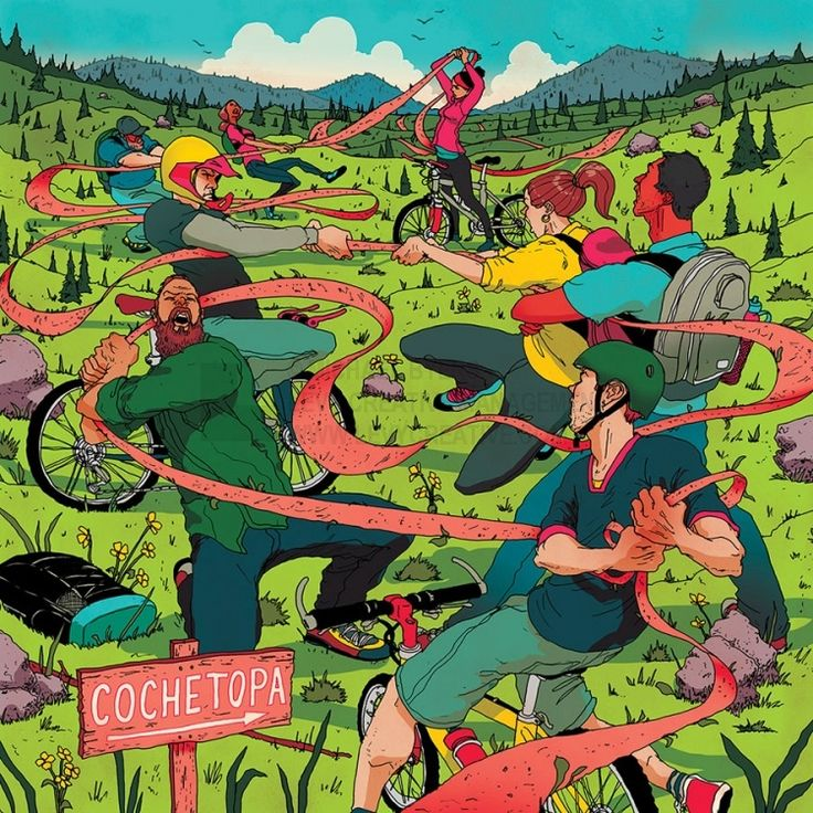 Cyclists or Hikers - Michael Byers