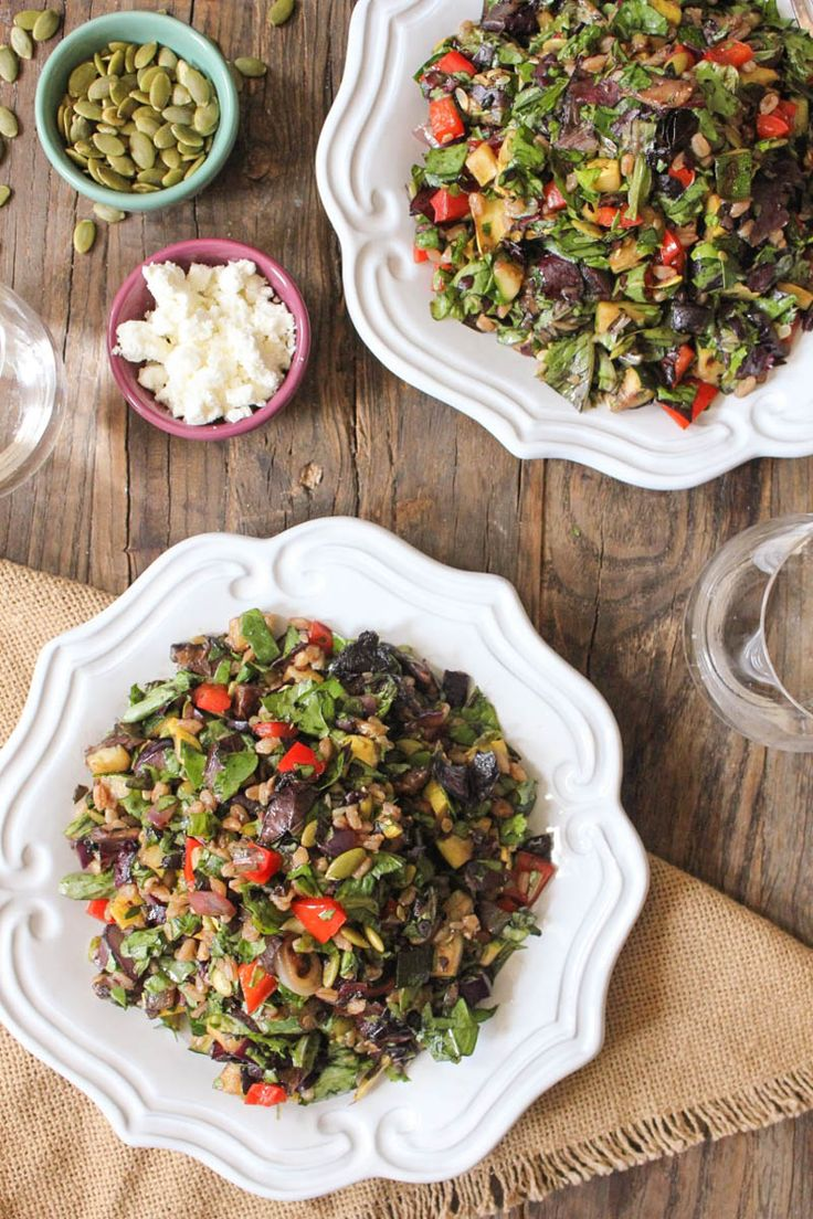 Grilled Vegetable Salad with Farro