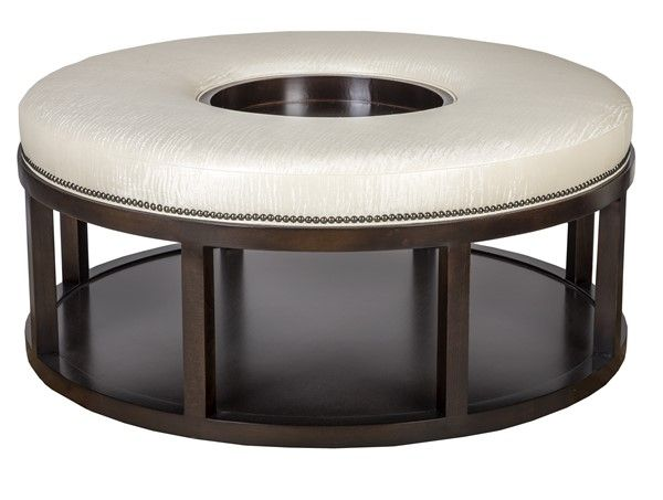 Wondrous Vanguard Furniture W42Dwfd Wayland Round Wood Ottoman Ibusinesslaw Wood Chair Design Ideas Ibusinesslaworg