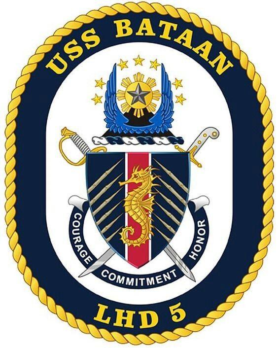 USS BATAAN (LHD-5) - 1996
