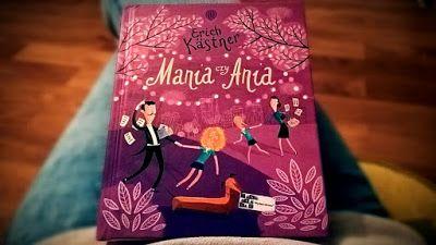 Czytajki - dziecięcych książek czar: Ania czy Mania - Erich Kästner