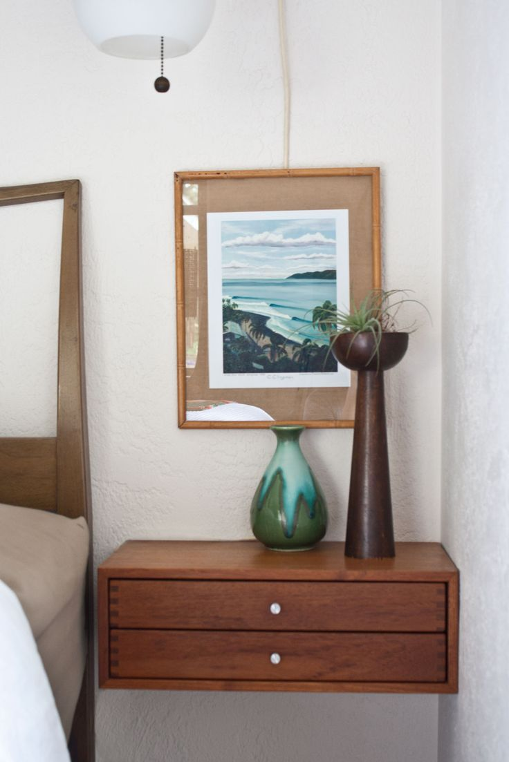 17 Best Ideas About Floating Nightstand On Pinterest