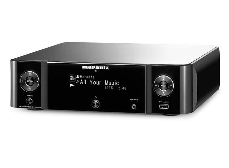 Marantz M-CR510 nettverksreceiver - Sort - Forsterker - Stereo
