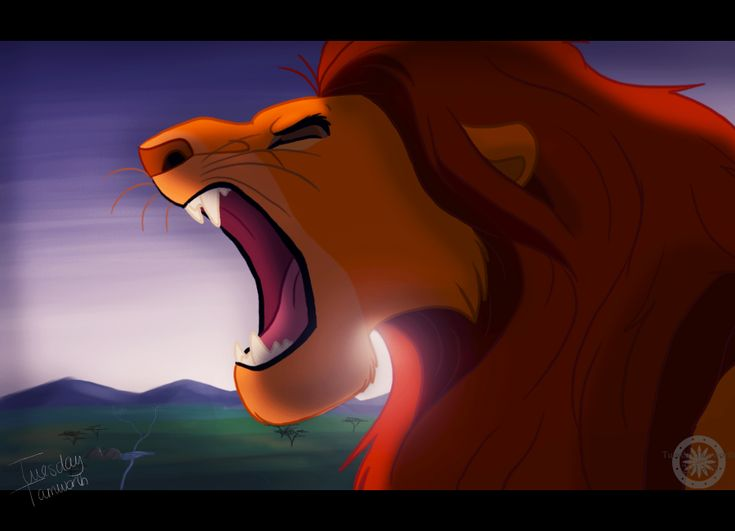 Mufasa roars | Disney/Non-Disney | Pinterest
